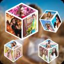 4D Photo Cube Live Wallpaper