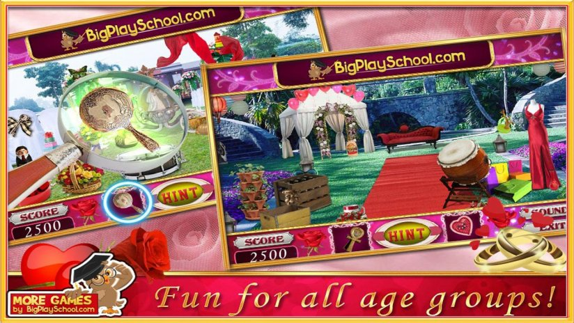 Free New Hidden Object Games Free New Rose Wedding 72 0 0 Download
