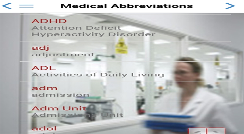 Medical Abbreviations (US Eng) 2 0 4 Download APK for