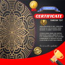 Certific Certificate Maker With Photo & Signature