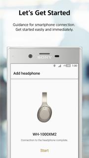 Sony   Headphones Connect screenshot 3