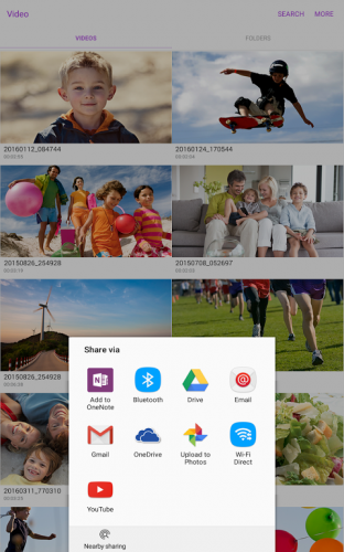 Samsung Video Library screenshot 9
