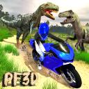 Dino Escape Bike Survival
