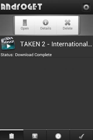 AndroGET Pro Screenshot