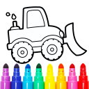 Vehicles Coloring for Kids: Trucks & Cars Game