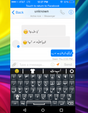 urdu english keyboard emoji with photo background screenshot 7
