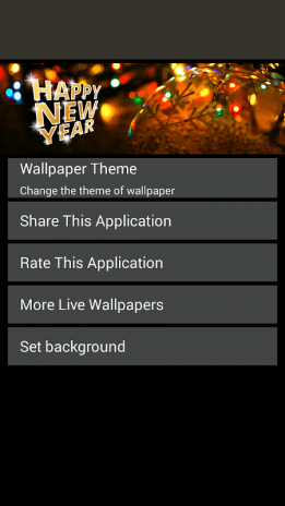 happy new year live wallpaper screenshot 6