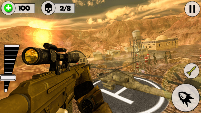 top shooting games for android download