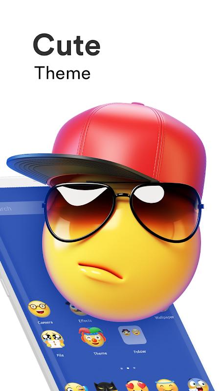 Emoji Launcher - Stickers & Themes screenshot 2