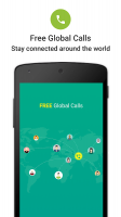JusCall Free International Phone Call & WiFi Calls Screen