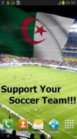 Algeria Flag Live Wallpaper Screen