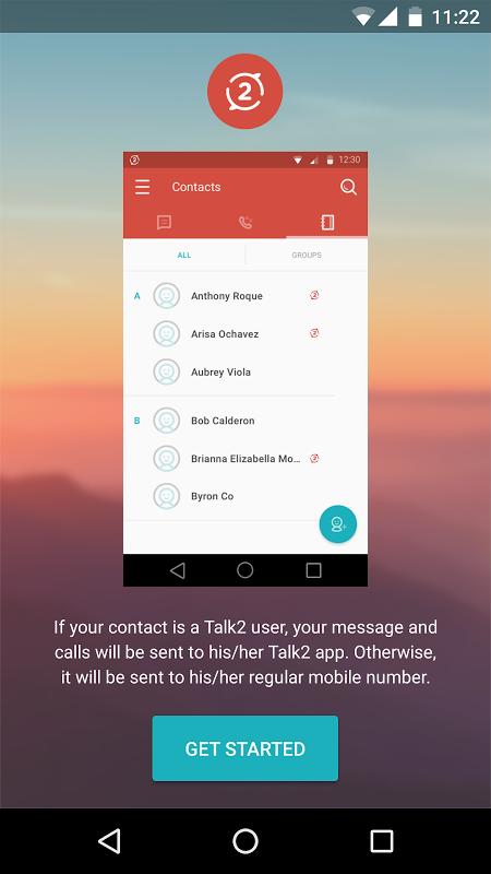 Talk2 screenshot 2