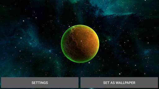3D Solar System LWP screenshot 6