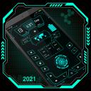 High Style Launcher 2020 - HiTech-Startbildschirm