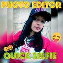 Editor De Fotos Selfie Efeitos Colagens e Montagem