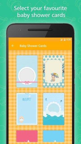 Baby shower invitation card maker 258 baixar apk para android baby shower invitation card maker captura de tela 2 stopboris Choice Image