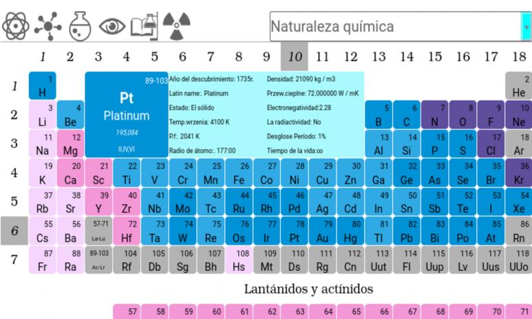 Tabla peridica de elementos 30 descargar apk para android aptoide tabla periodica de elementos captura de pantalla 11 urtaz Gallery