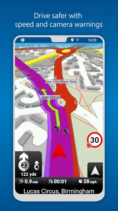 MapFactor GPS Navigation Maps screenshot 2