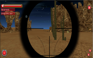 Sniper Animal Shooting 3D Screen