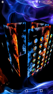 TSF Shell Theme Flames screenshot 1