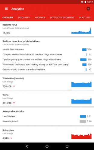 YouTubeStudio screenshot 16