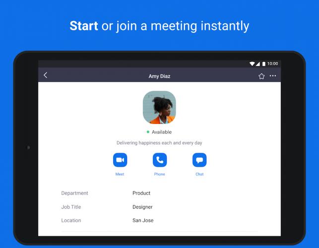 Zoom meeting download