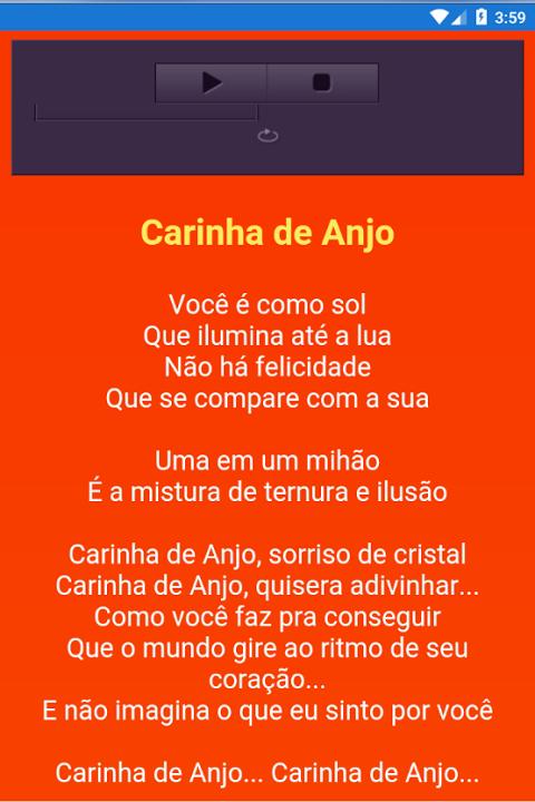 CARINHA ANJO DA DE TEMA NOVELA MUSICA BAIXAR