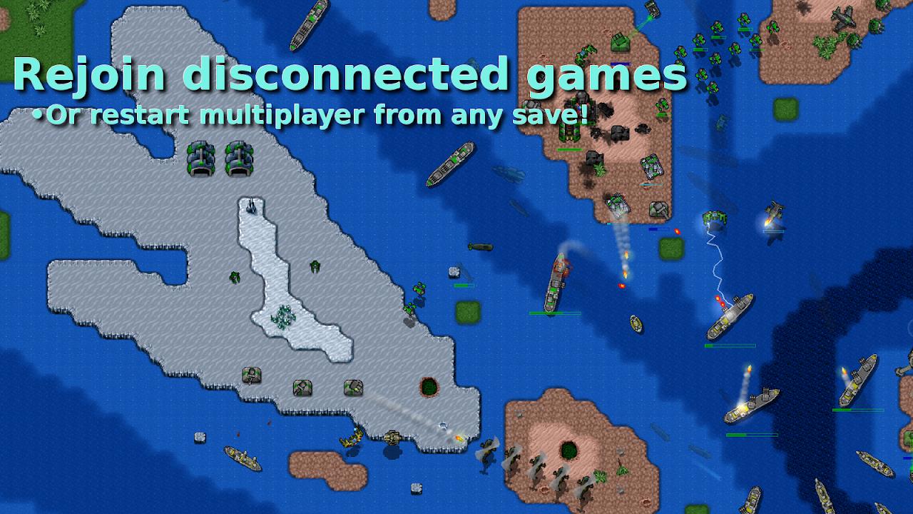 Rusted Warfare - RTS Strategy screenshot 2