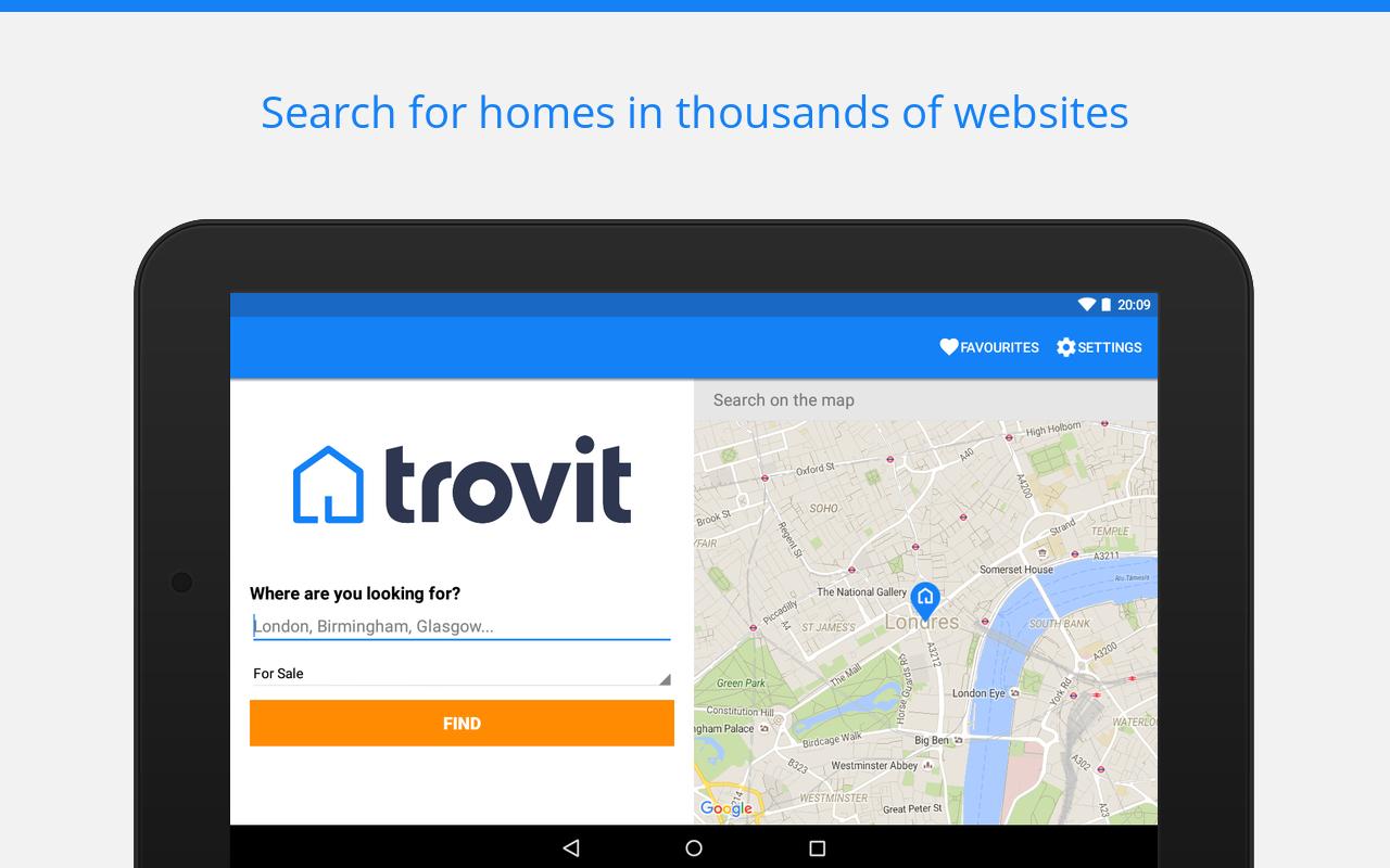 Sale & rent property - Trovit screenshot 1