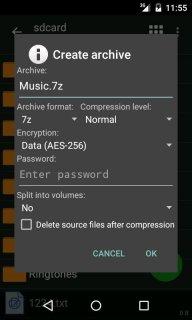 ZArchiver screenshot 2