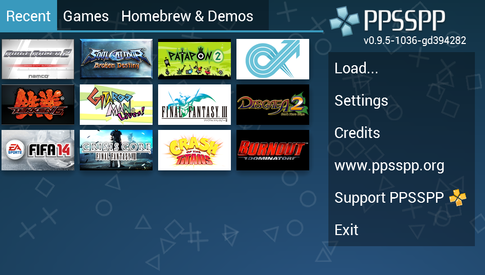 PPSSPP - PSP emulator screenshot 1