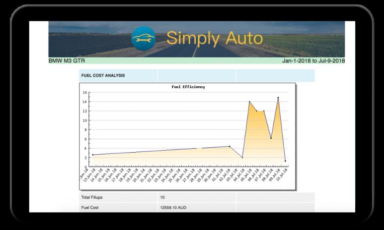 simply auto car maintenance fuel mileage log 32 4 download apk