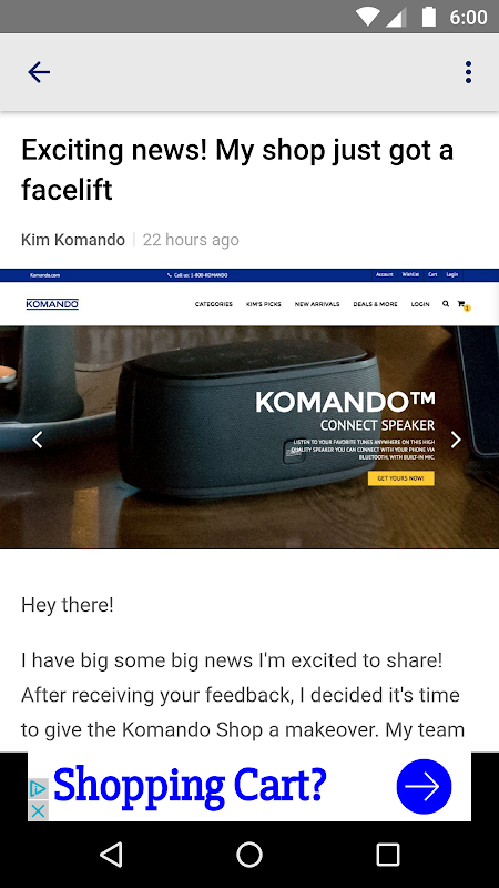 Komando.com App screenshot 1