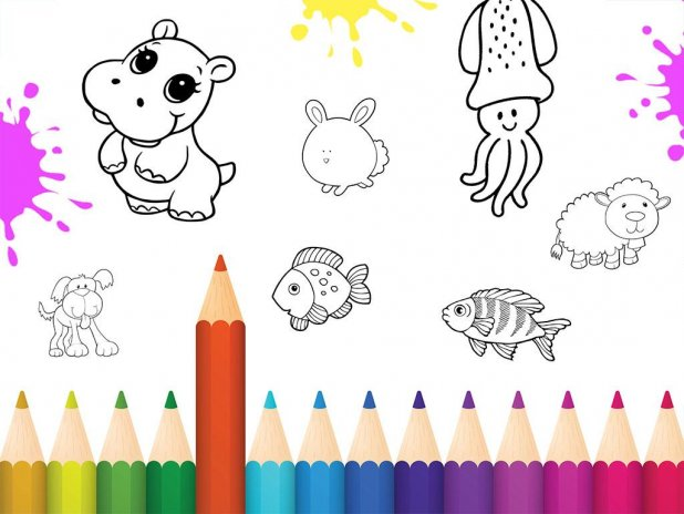 Color Draw Coloring Books Screenshot 3