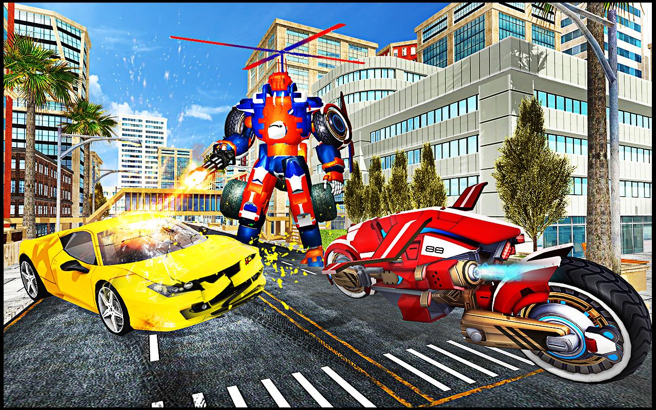 Transmute Robot Superhero screenshot 2