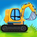 Construction Trucks & Vehicles : Build House
