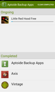 Aptoide Backup Apps screenshot 2