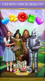 The Wizard of Oz Magic Match 3 screenshot 1