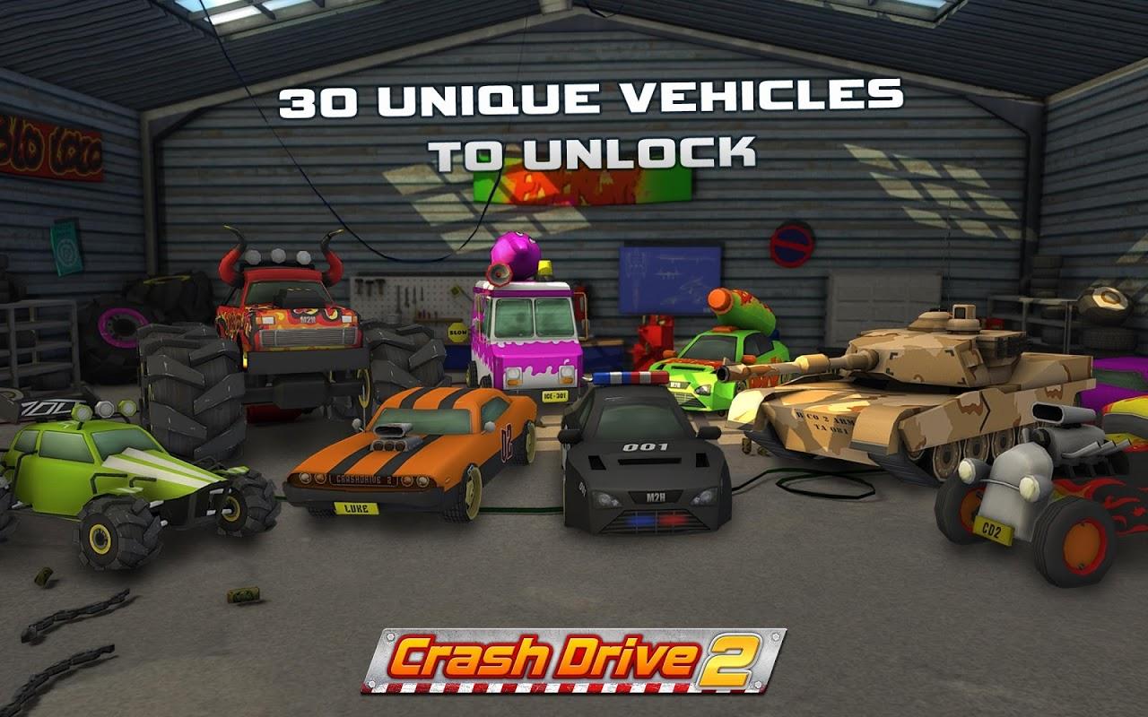 Crash Drive 2: 3D racing cars screenshot 2