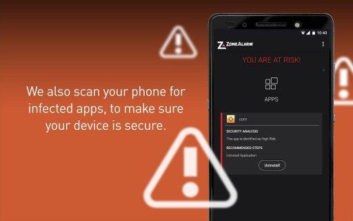 ZoneAlarm Mobile Security screenshot 9
