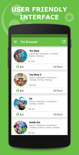 how to download yify movies on android