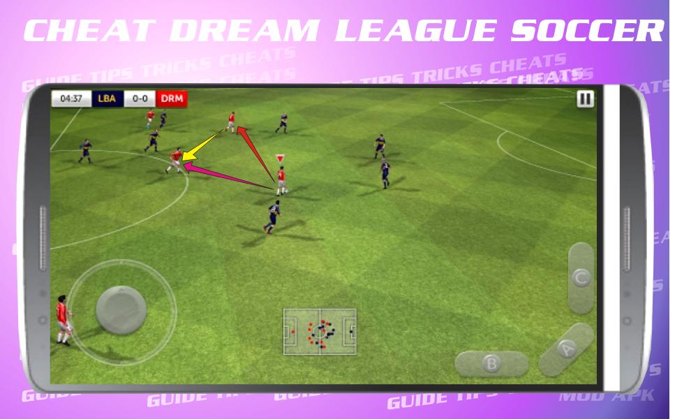 Cheats for Dream League Soccer 2017 screenshot 7