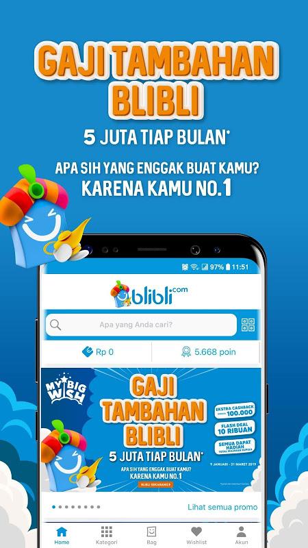 Blibli.com Belanja Online Shop ala Mall screenshot 5