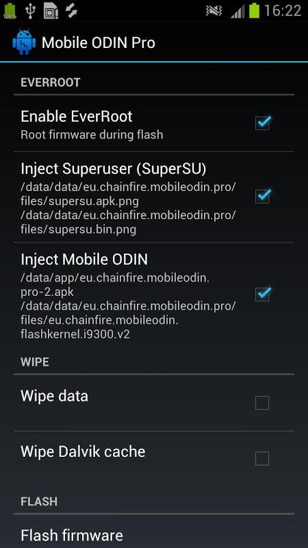 [root] Mobile ODIN Pro screenshot 2