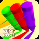 Pencil Rush 3D : Pen Rush