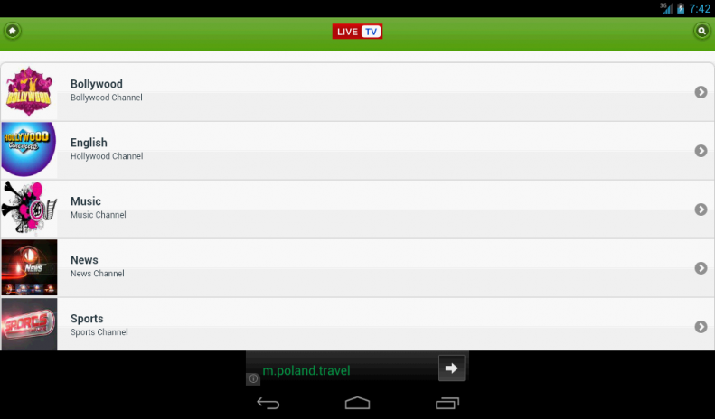 Live TV Mobile 1 2 Загрузить APK для Android - Aptoide
