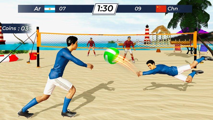 Volleyball 2021 - Offline Sports Games screenshot 2
