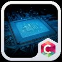Computer Tech C Launcher Theme