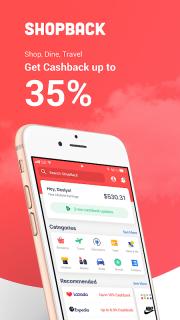 ShopBack - The Smarter Way | Shopping & Cashback screenshot 7