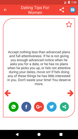Dating Tips for Women 1 1 Download APK for Android - Aptoide